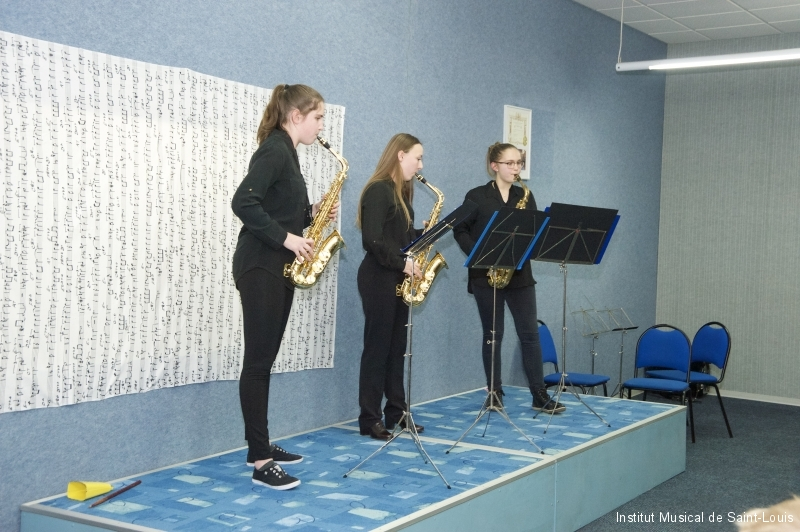 Trio de saxophones