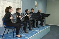 Quintette d'accordéons